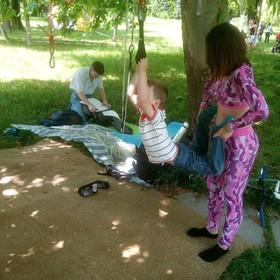 Отдых в Крыму. Пикник Добра в Гагаринском парке
