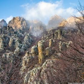 Отдых в Крыму. Долина Привидений и гора Южная Демирджи