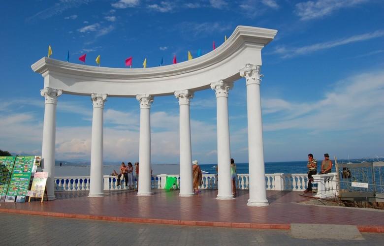 Отдых в Крыму. Большая Алушта