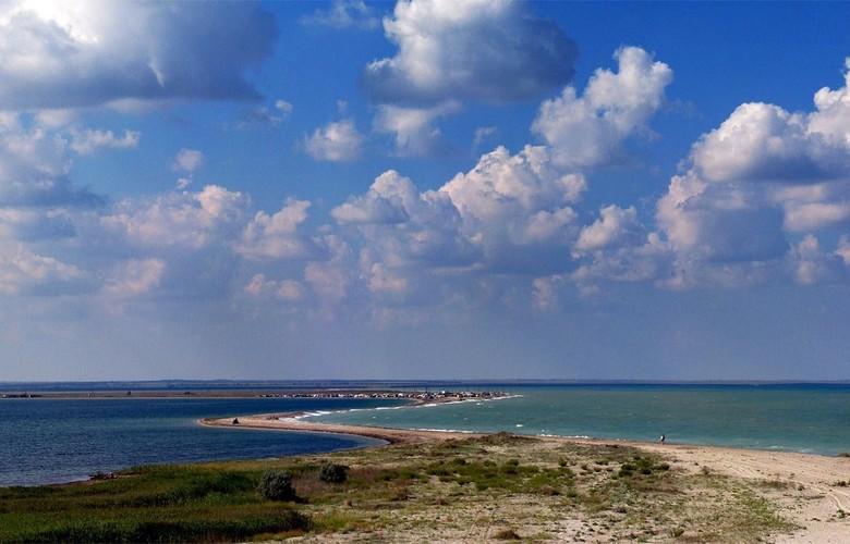 Отдых в Крыму. Бакальская Коса. Ландшафтный парк
