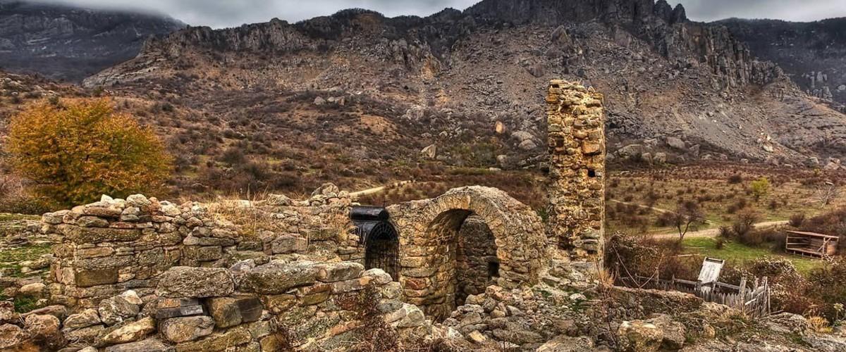 Отдых в Крыму. Фуна. Древняя крепость